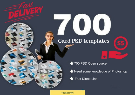 Give You 700 Business Card Professional Psd Templates