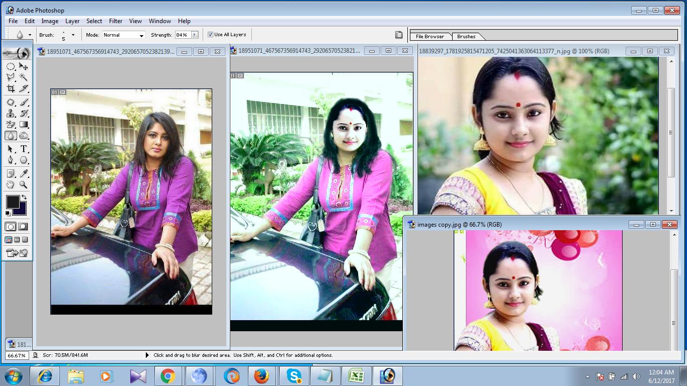 Do any kind of Photo shop work