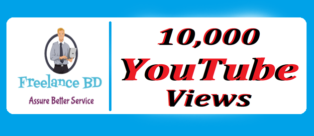 Super fast 10000+safe You Tube vie. ws