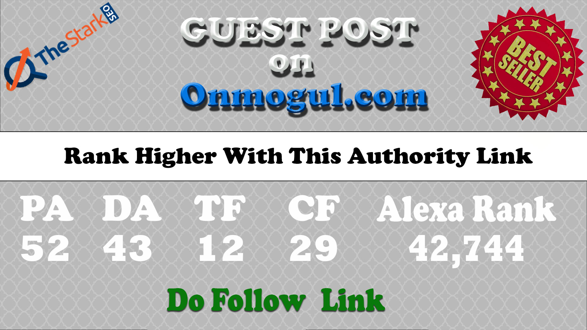 Write and Publish a Guest Post at Onmogul.com DA 43 Site Do-Follow Link