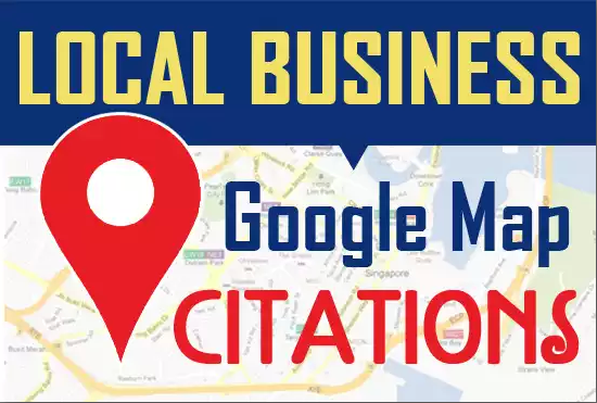 Handmade 140+ Google Map Citations For Local SEO