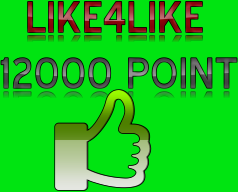 i send give you seo like4like12000 points instant delivery time very fast