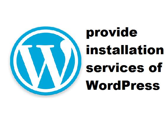 install WordPress site and setup theme and plugins