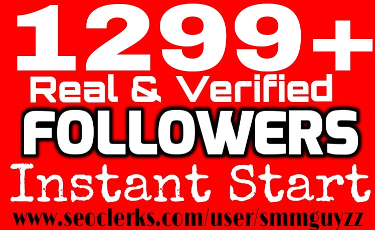 1299+ Real HQ Followers WorldWide Instant Non drop (100% pics, 100% bios, 100% Backgrounds)