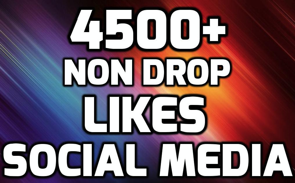 INSTANT 4500+ HQ WorldWide LIKES FOR SOCIAL MEDIA POST