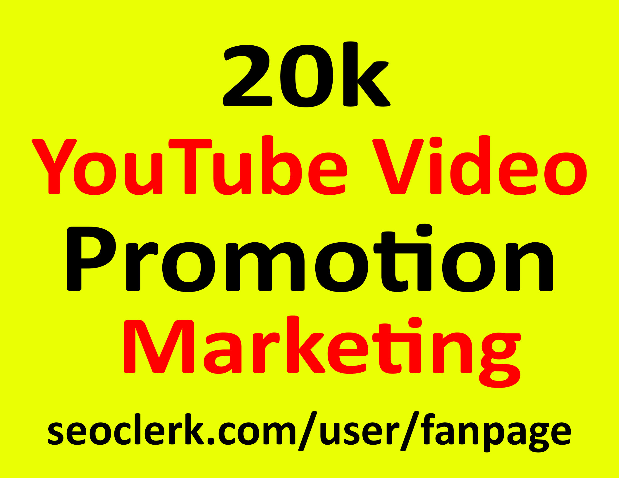 Fast YouTube Video Promotion Marketing Active Audience