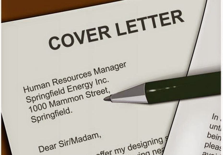 Industry Oriented Cover Letter For Job Application