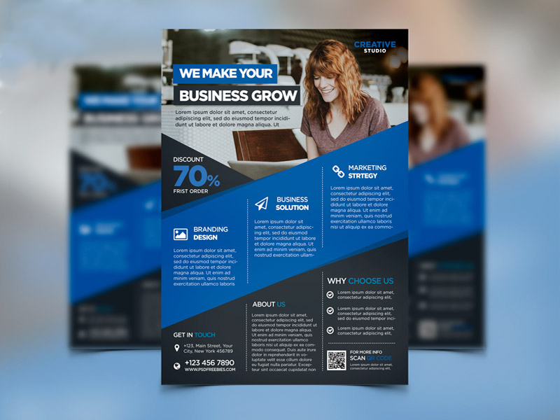 Design CREATIVE Flyer, Brochure, Poster For You