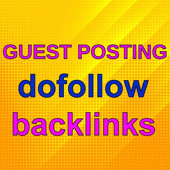 Guest Post on Travel,  Education,  Dental,  Real Estate,  Financial websites