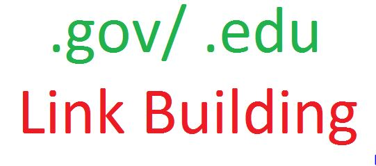 10 .gov / 10 .edu Link Building
