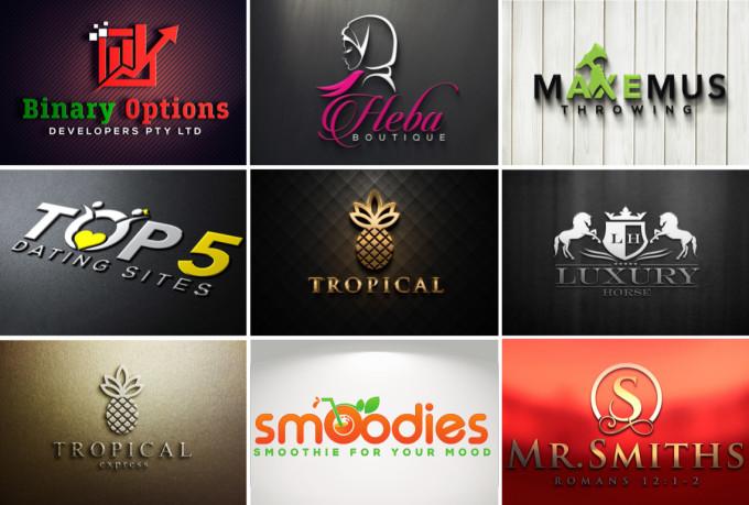 Design Very High Professional Modern Logo Design