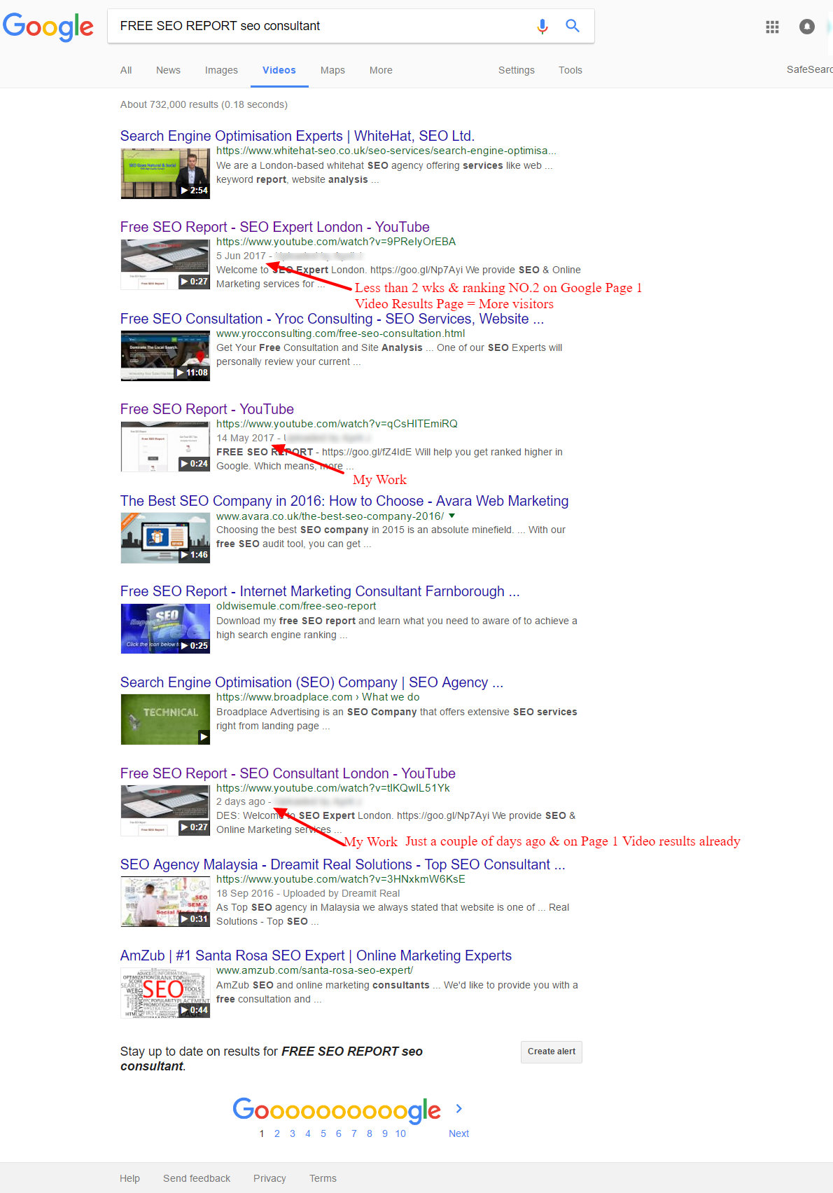 Do Video Production & 1st page Google Ranking,  YouTube Video Maker & SEO Expert