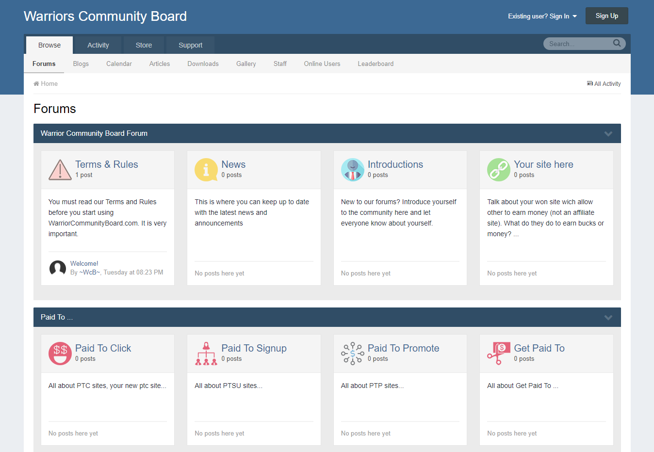 Selling a Forum website based to IPS Community Suite latest version with all addons installed
