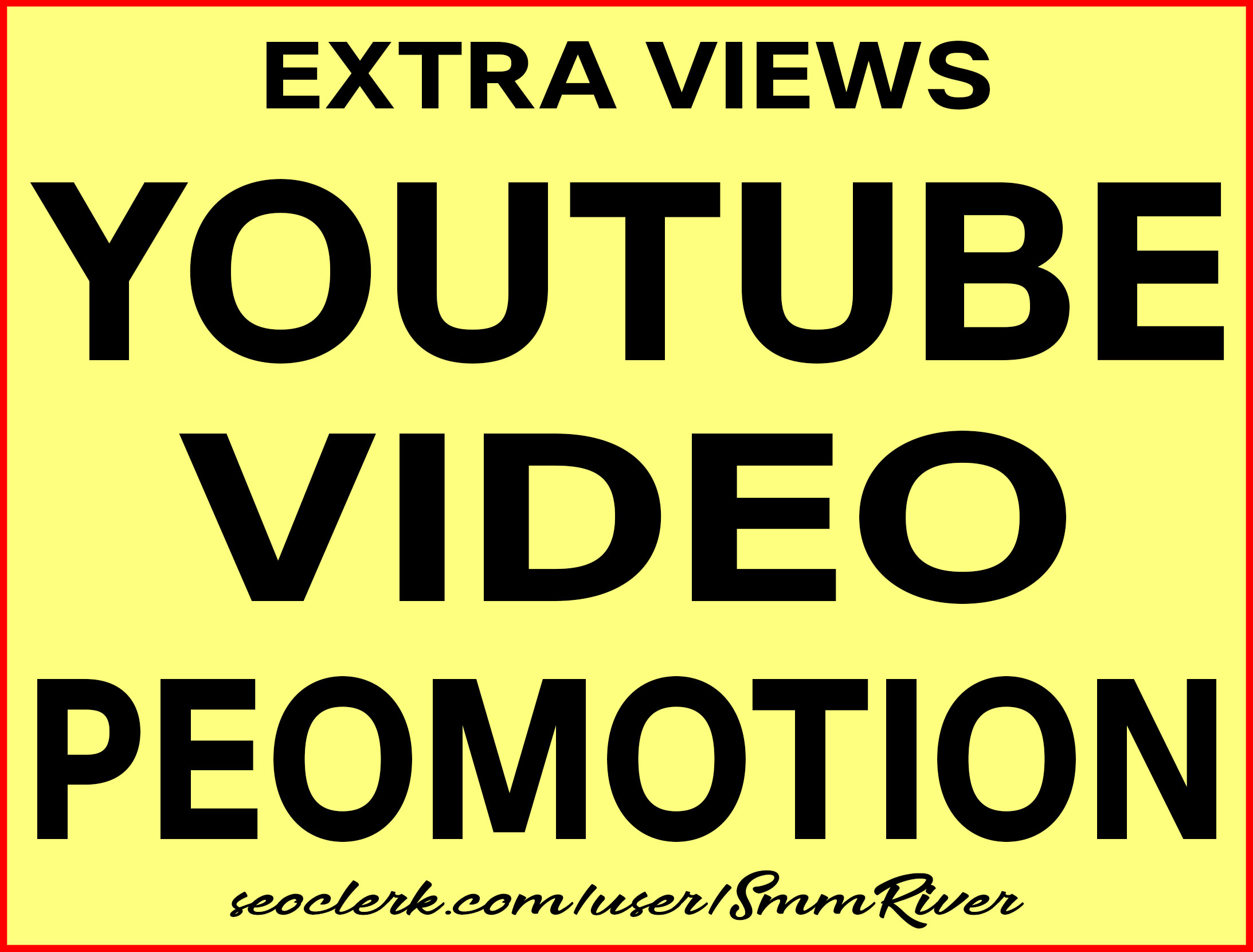 YouTube Video Promotion Real Active Users Guarantee