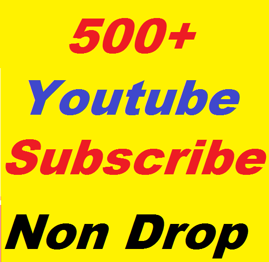 Safe 500+ YouTube Subscribers non drop or 180 Youtube Custom Comments Give You