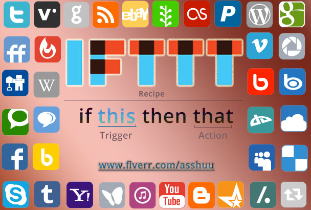 Perfect IFTTT Network create For Your Website