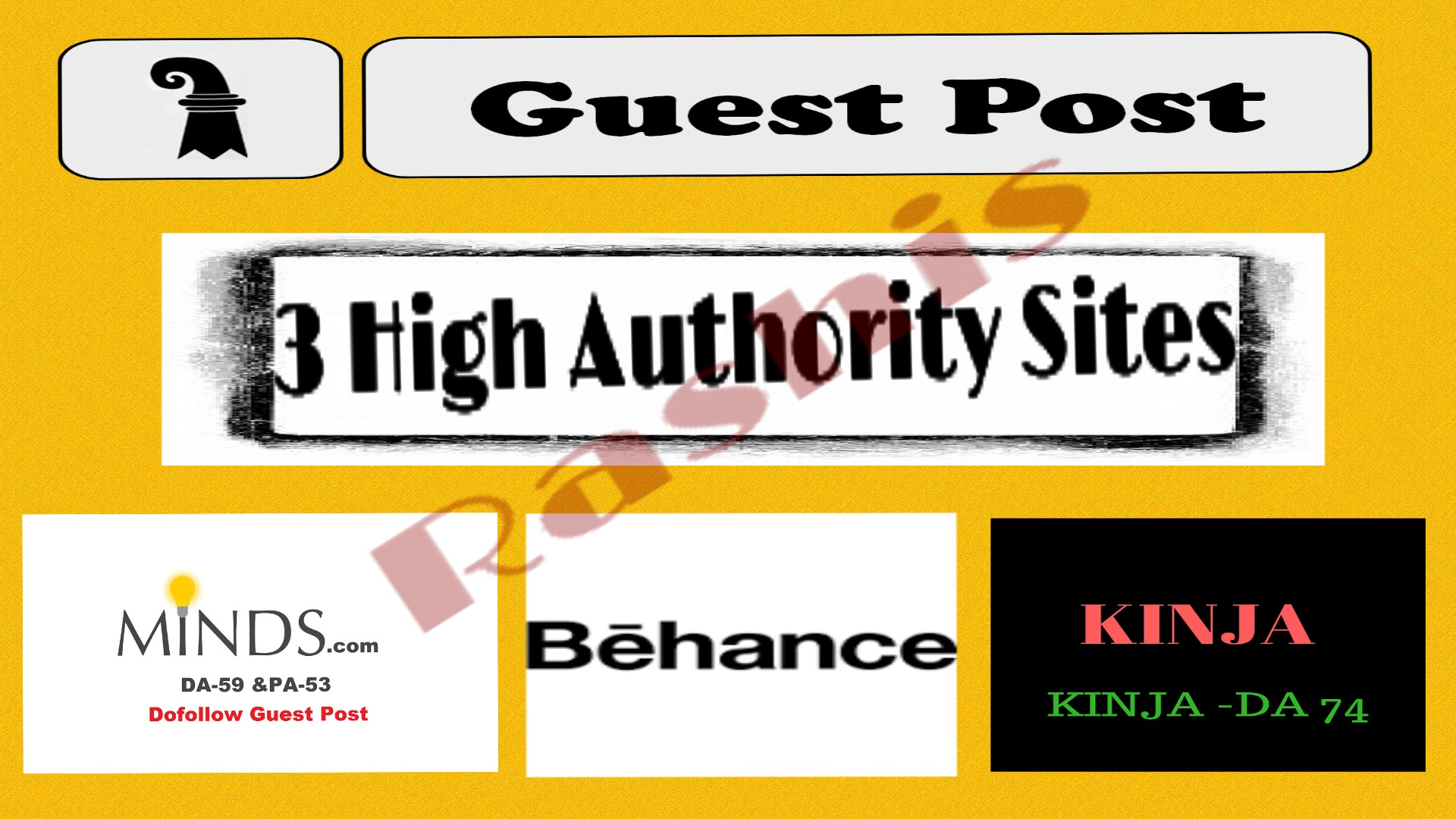 [Bumper offer] write & publish Guest Post On Minds+Behance+Kinja