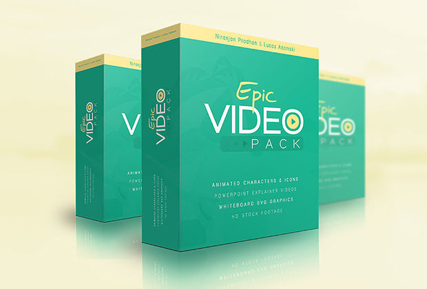 GET Epic Video Pack with 100 HD stock recording and many many more graphic stuff.