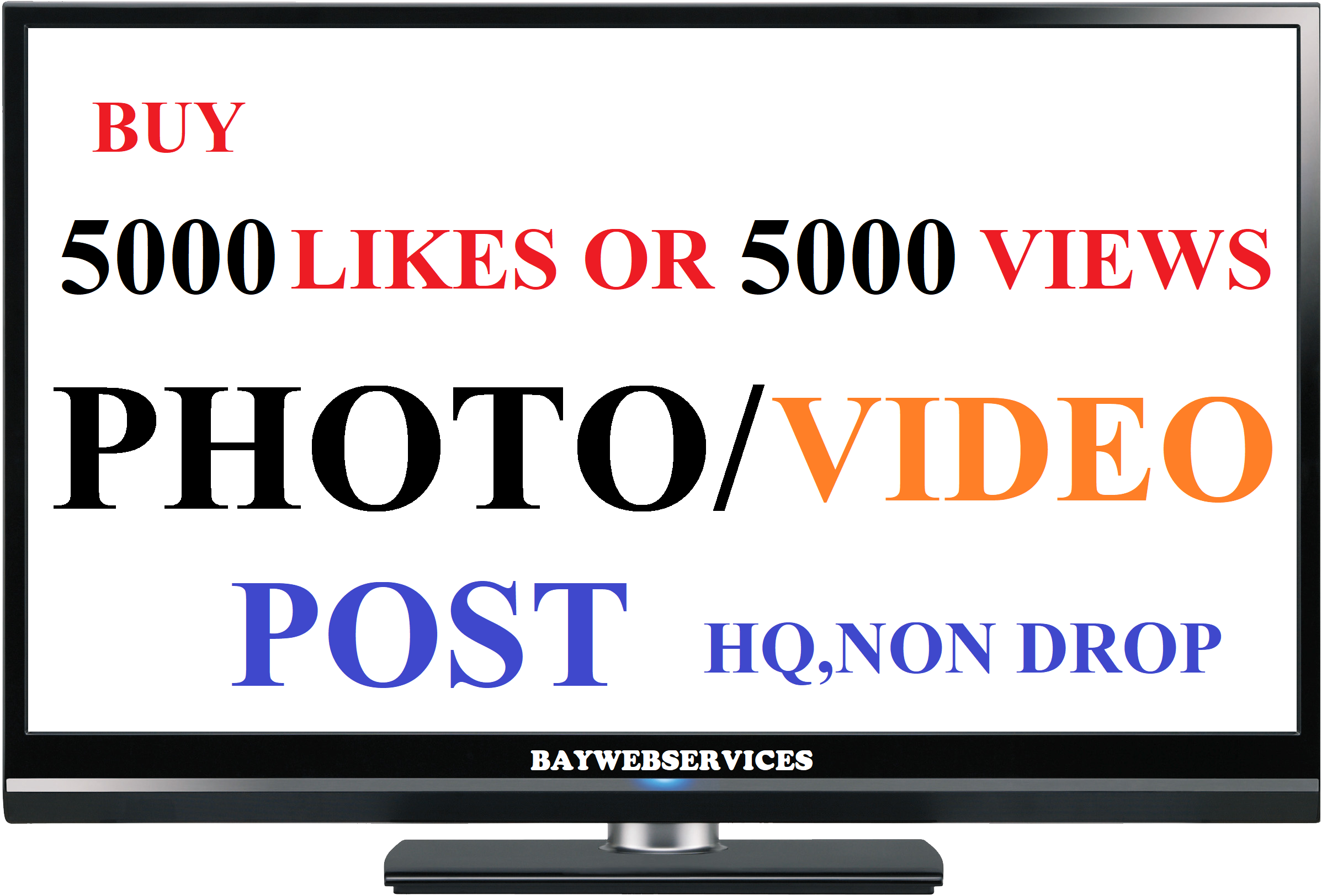 Instant start 5000 photo as or 5000 video scene promotion