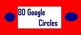 Provide you 80 google circles