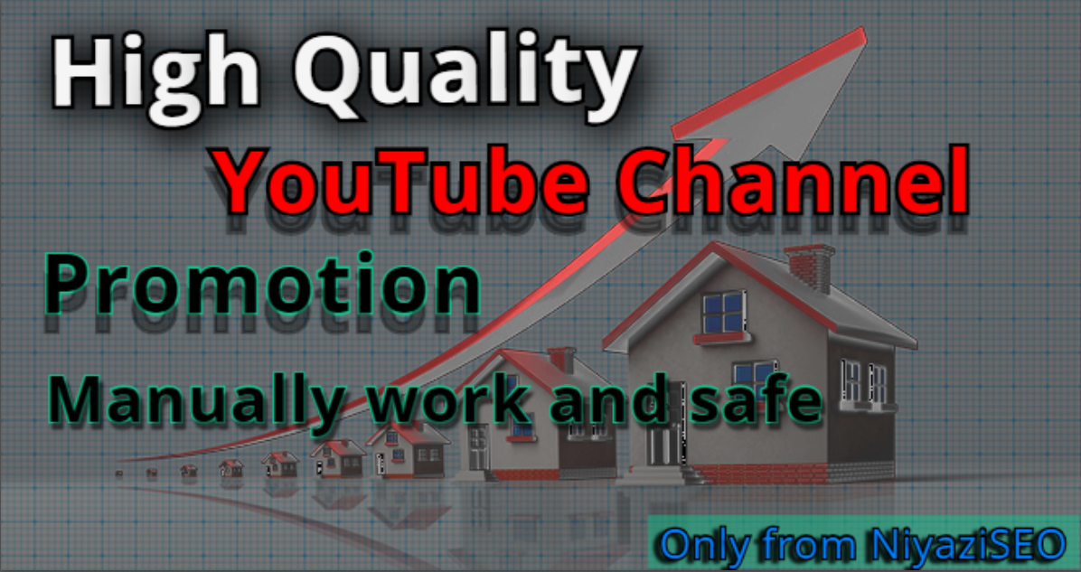 I Will Do Manually High Quality Channel Promotion