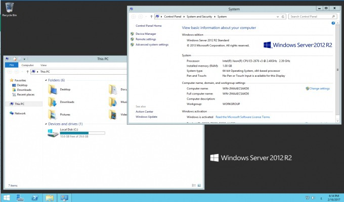 Windows RDP - VPS account with addiction privileges