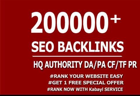 Create 2, 00,000+ high quality gsa, ser, back links for seo