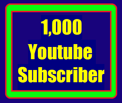 Guaranteed 1000+ YouTube Channel Non Drop Subscribers Fastest Delivery