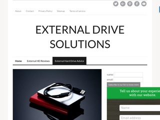 External drive solutions Sponsored Blog Review