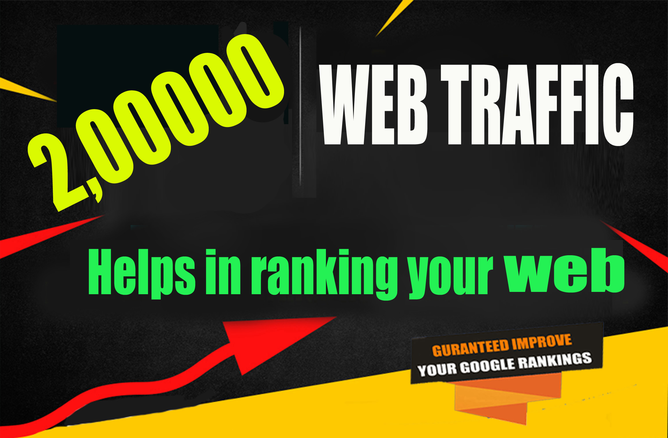 UNLIMITED Real human Traffic For 29 Days