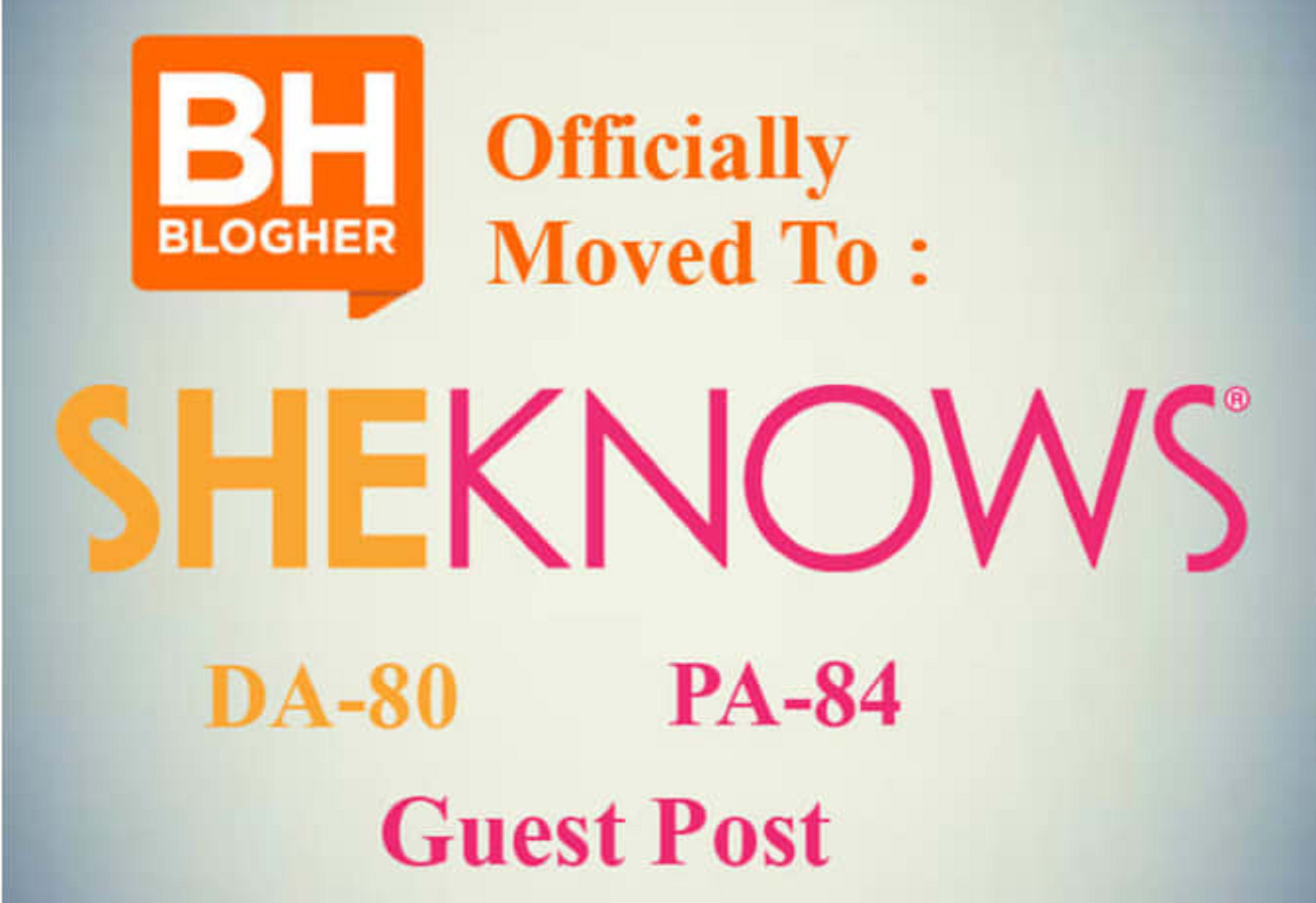 Publish Guest Post On SheKnows DA 80