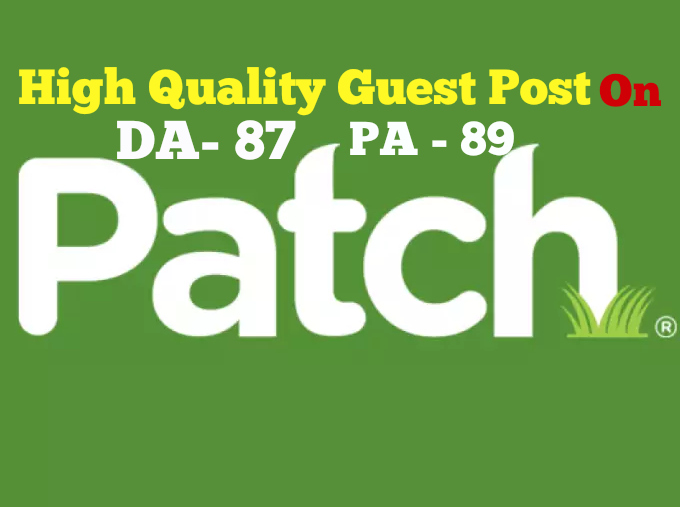 Publish Guest Post On PATCH DA87