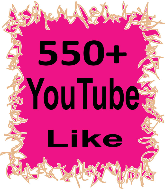 Safe 550+ YouTube Like Or 150 YouTube Subscriber