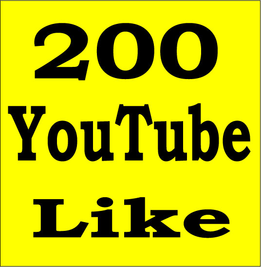 1000 YouTube Like Or 200 YouTube Subscriber