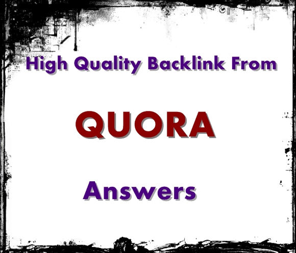 rank your website by 30 you high quality Quora answer posting with keyword and URL