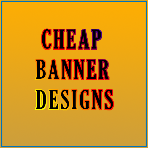 Design your next banner professionally for cheap Adobe Photoshop,  illustrator,  more.