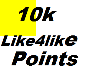 10000+ like4like points supper fast delivery