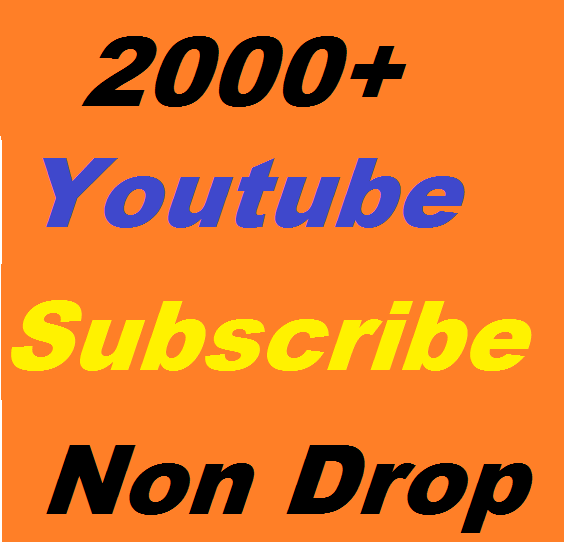 2000 youtube subscribe or 5000 youtube like or 2500 auto comment  supper fast delivery