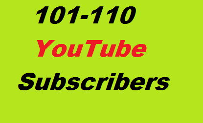 Guaranteed  100+ Youtube Manually Real Channel Subscribs non drop and safe