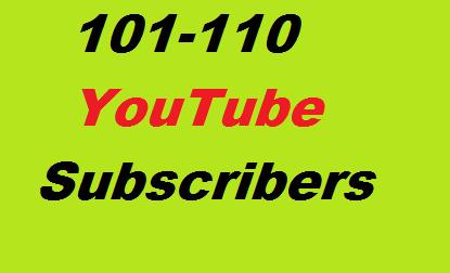 100+ YouTube Subscribers Non Drop Guaranteed