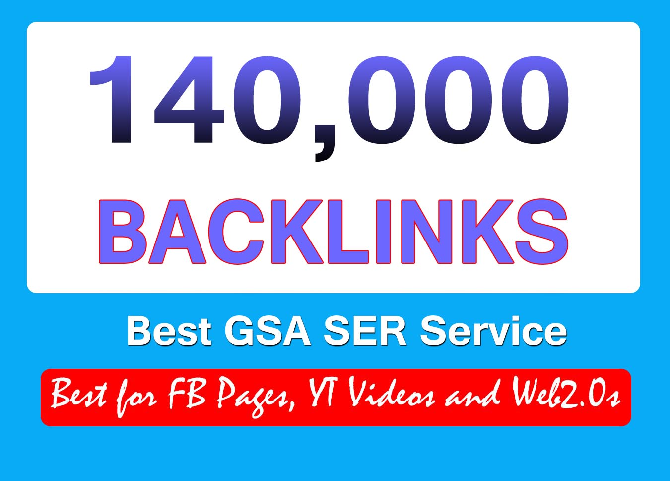 140K HUGE GSA SER BACKLINKS BLAST