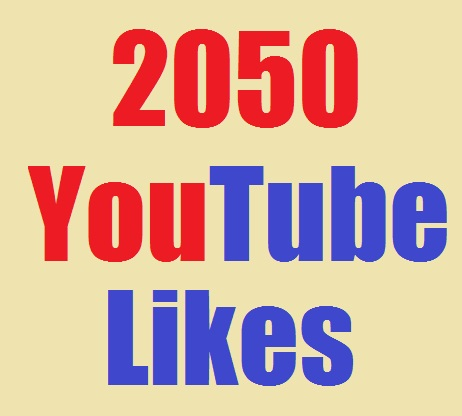 l will provide 2050+youtube likes fast delivery only for $