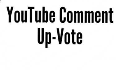 100 YouTube comment Up-vote manually adding on your  Comments