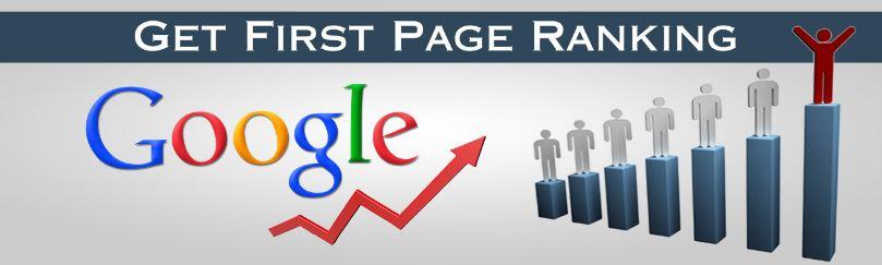 Gauranteed Google 1st page ranking service