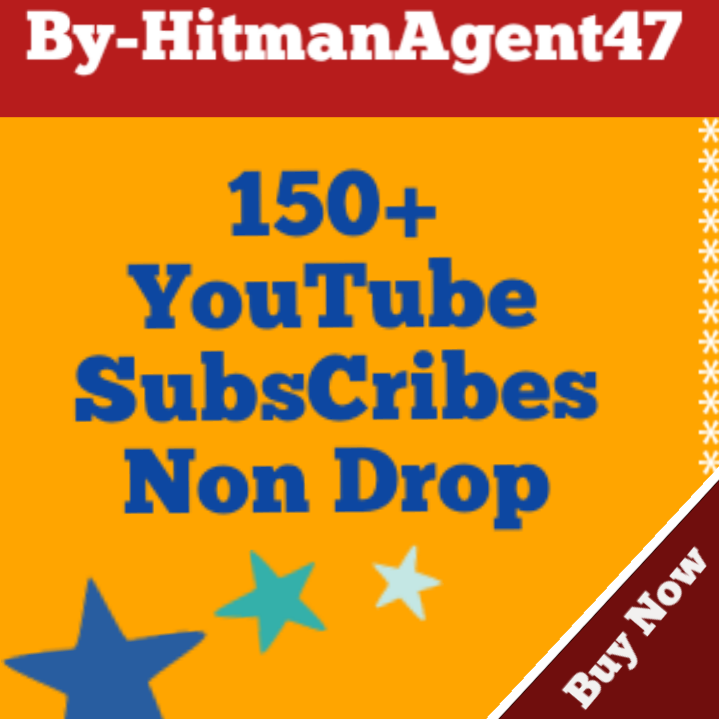 Guaranteed 150+ Youtube Subscribes Fast Non Drop
