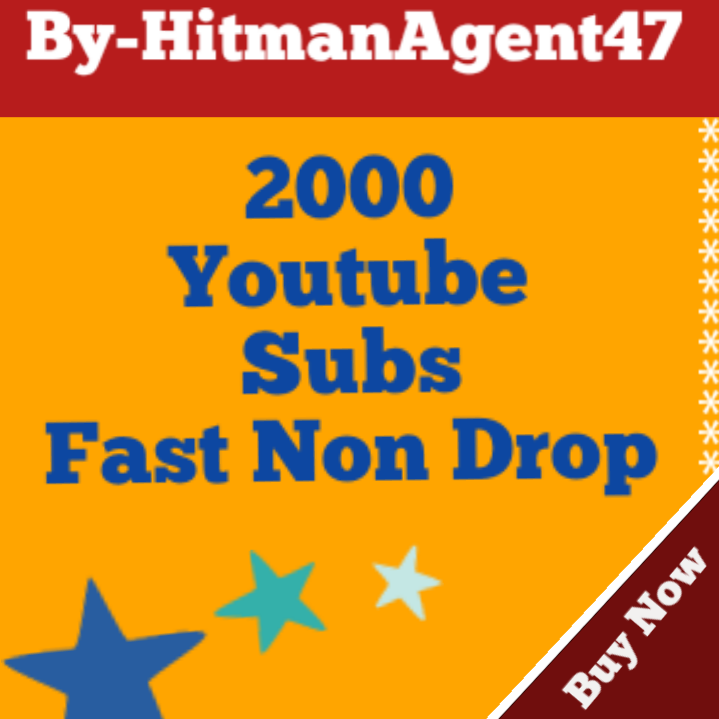 2000 YouTube Subs criber Fast & Safe Non drop