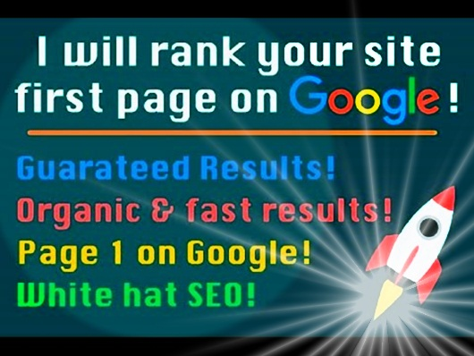 Boost Your Ranking On Google 1st Page Within 25 days