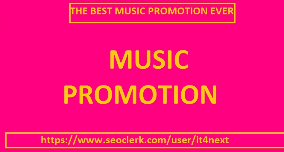 music promotion for 105K play/s 50 lik/es 25 repos/ts 15 comment/s