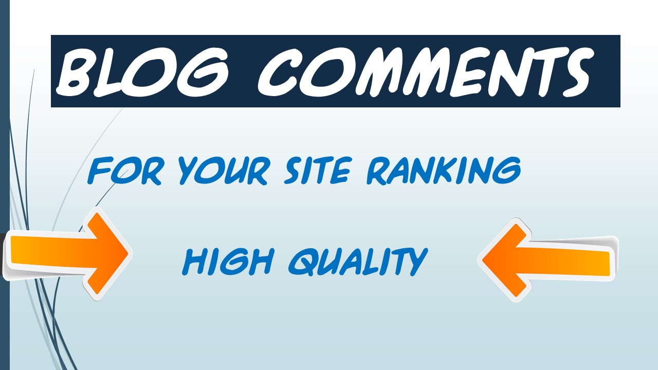 I will Provide 50 NICHE Relevant Blog Comment