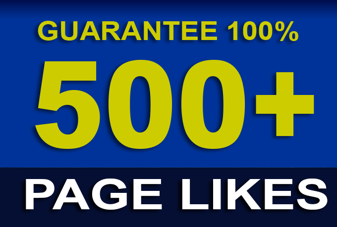 Get Instant 500 Page Likes